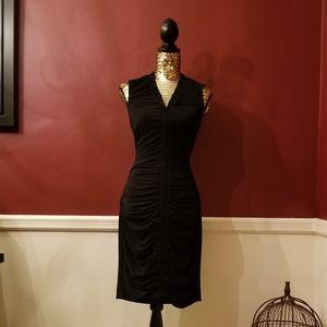 Kenneth Cole Ruched Sheath Dress